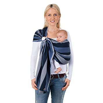 e82fe12d8e7 Hoppediz Ring Sling for Baby Carrying (Montreal)  Amazon.co.uk  Baby