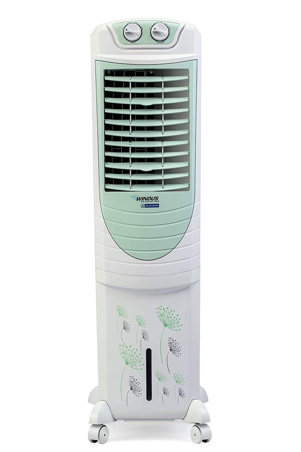 Blue Star PA35LMA 35 Litre Tower Air Cooler (Apple Green)