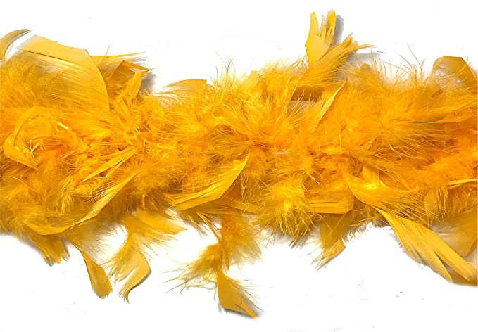 DreamAngels 65 Gram Chandelle Feather Boas with Lorex and Tipped