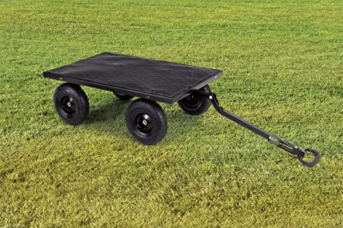 """Gorilla Carts Utility Sides 13"""" with lb Black"""