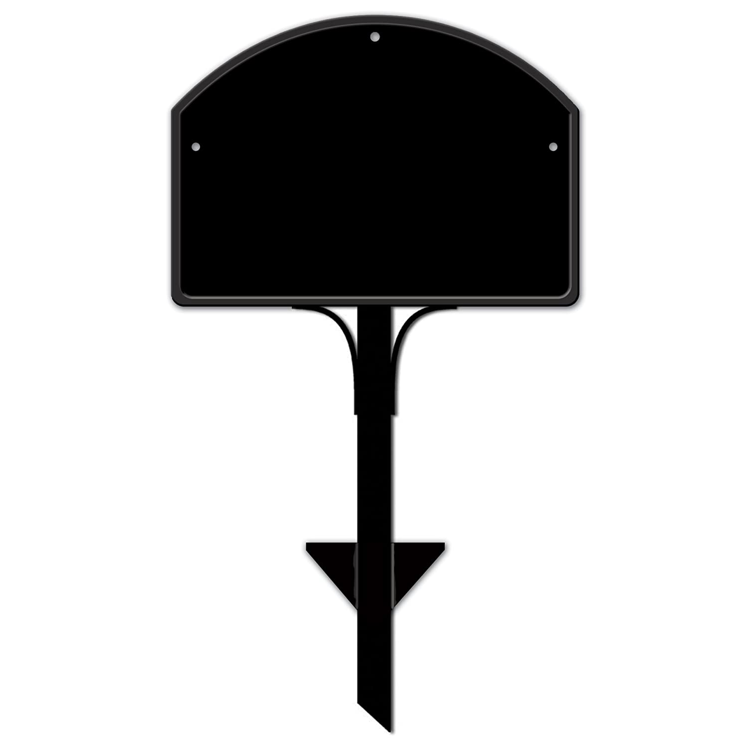Yard Stake for Yard DeSigns,Black,14 in. w x 25 in. h.