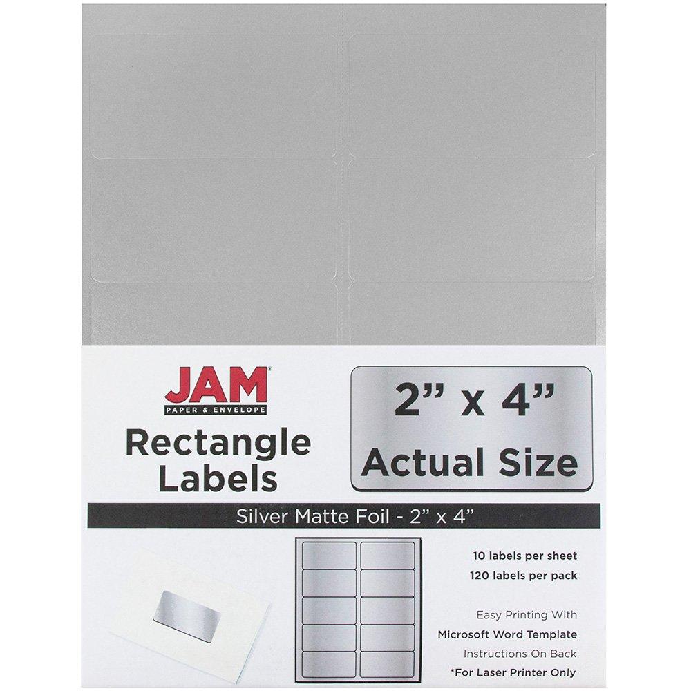 Amazon.com : JAM Paper Mailing Address Labels - Medium - 2\