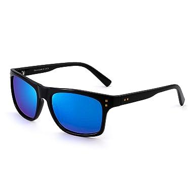 JIM HALO Clásicas Polarizadas Gafas de Sol Para Mujer Hombre Diseñador Sol Anteojos UV400
