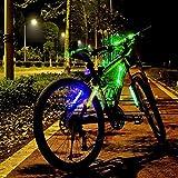 ACRATO Mountain Bike Reflective Gear Light, Cycling Night Safty Warning LED Light