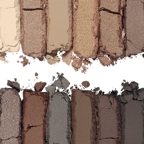 Rimmel Magnif'eyes Eye Palette, Keep Calm and Wear Nude, 0.5 oz, 12 Shades of High Shimmer, Blendable, Crease & Smudge Resistant Eyeshadow