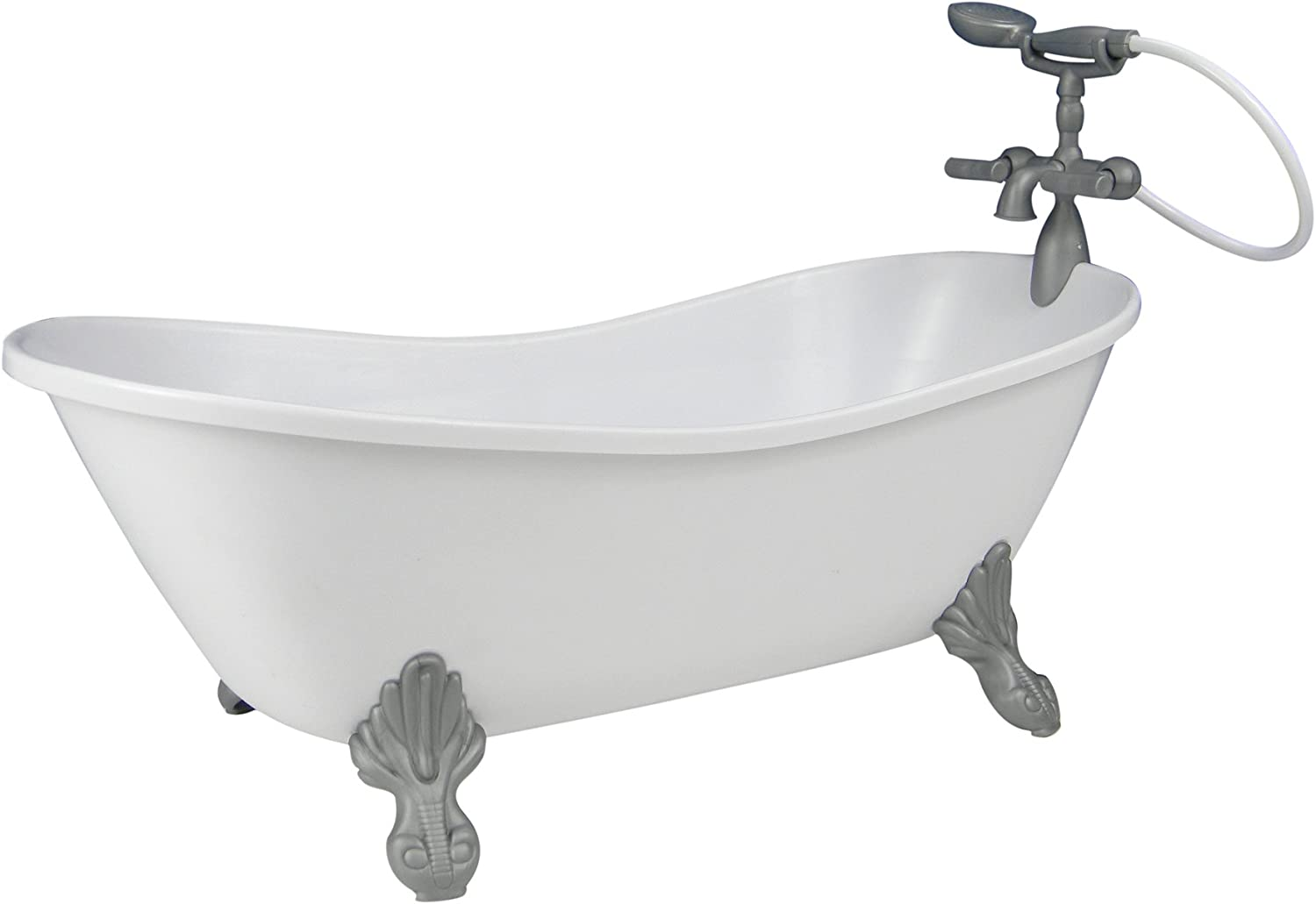 White Doll Bathtub18 Inch Doll Tub with Handshower