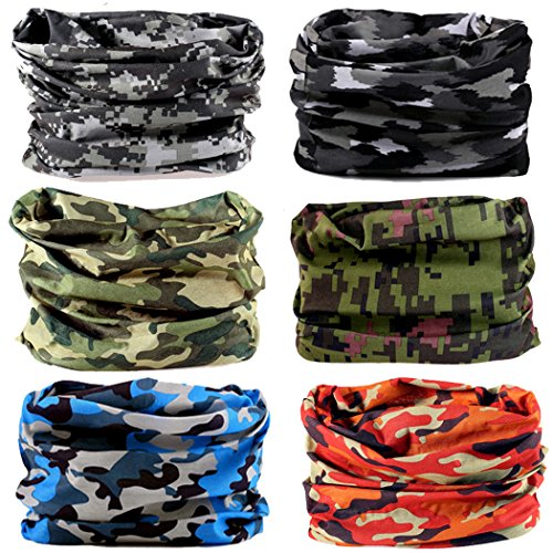 NEXTOUR Neck Gaiter Headwear Headband Head Wrap Scarf Mask Neck/Ear Warmers Headbands Perfect for Winter Fishing, Hiking, Running, Motorcycle etc& Daily Wear for Men and Women