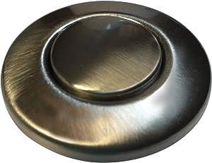 Moen AS-4201-SN Garbage Disposal Air Switch Coordinating Decorative Button, Satin Nickel