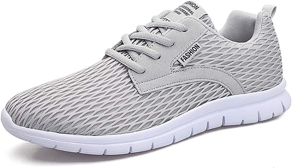 Zapatillas de Deporte para Hombre Zapatillas Deportivas cómodas de Malla Transpirable Jogging al Aire Libre Caminar Zapatillas Ligeras: Amazon.es: Zapatos y complementos