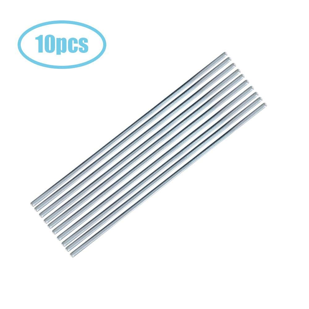 Hamkaw Triple Play Low Temp Aluminum-Zinc Welding Rod,10 Pack /& 50 Pack