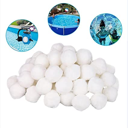 Amazon.com: Sinwo Pool Filter Balls, Swimming Pool Cleaning ...