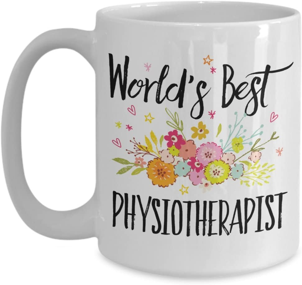 Amazon.com: Physiotherapist Mug - World's Best Physiotherapist Mug ...