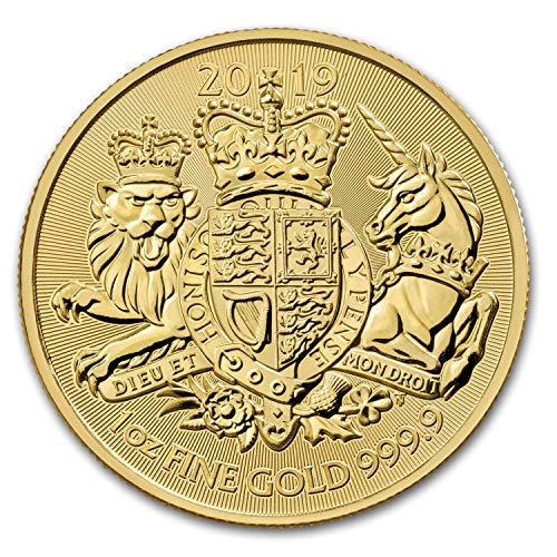 2019 UK Great Britain 1 oz Gold The Royal Arms BU 1 OZ Brilliant Uncirculated