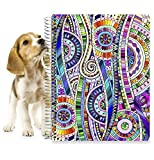 #8: Planner 2018 by Tools4Wisdom Planners - 8.5 x 11 Hardcover w Tabs - First Ever Planner with a Daily Weekly Monthly Yearly Goals Planning System - Spiral | Color Pages | Stickers | Dated Calendar Year