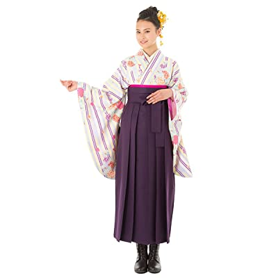 (キョウエツ) KYOETSU ひさかたろまん 二尺袖着物 HN1-HN48 無地袴4点セット ジュニア (着物/袴/袴下帯/二尺袖襦袢)