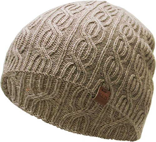 KBETHOS KBW-266 KHK Soft Winter Cable Knit Beanie Short Skull Cap Ski Warm Hat
