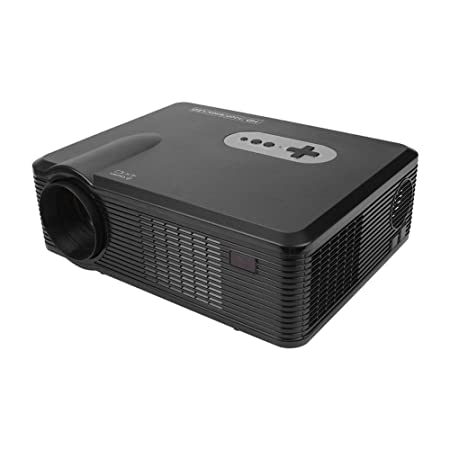Proyector, Proyector LED Full HD Portátil, TV/VGA/AV/USB ...
