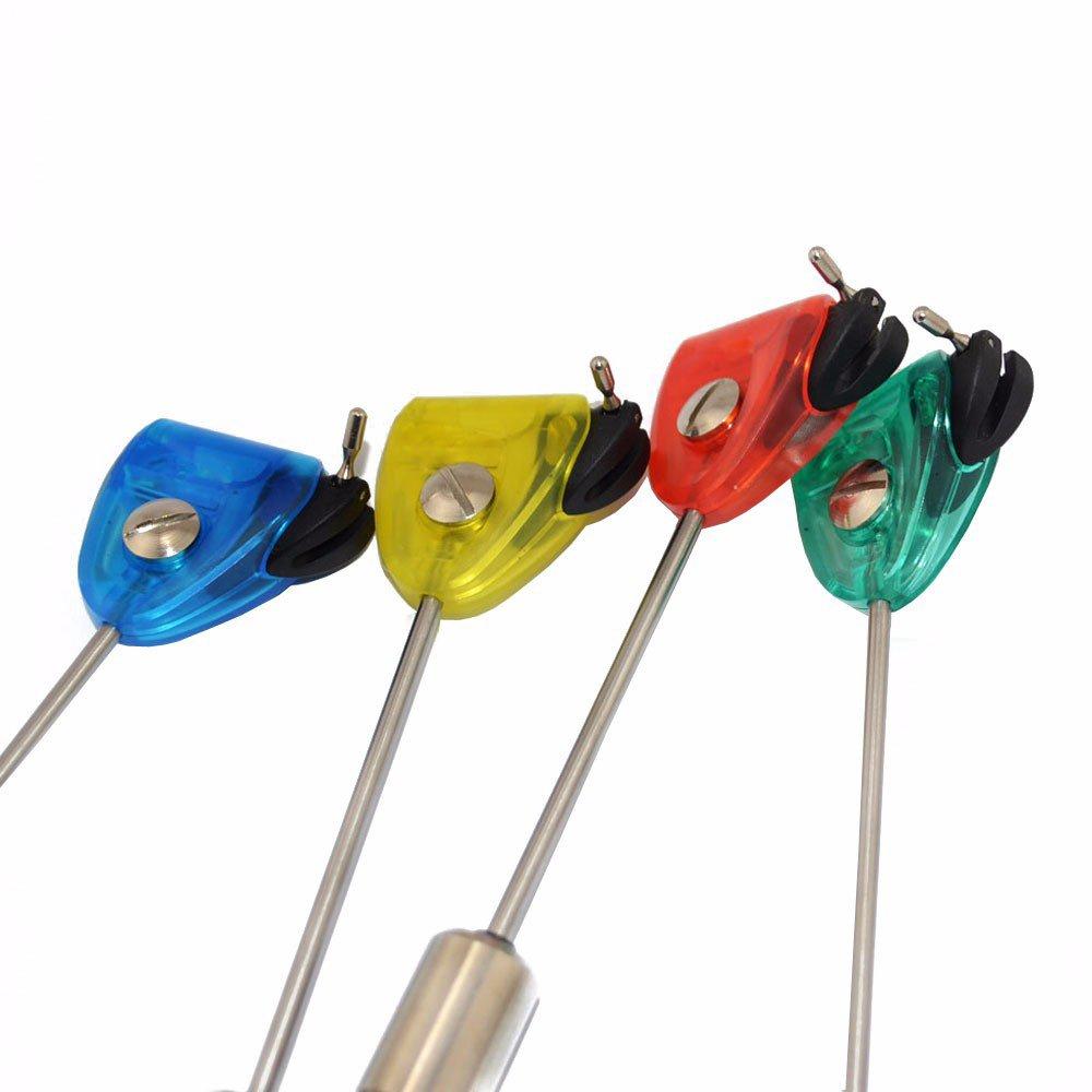 Hirisi Tackle 4/x Swinger beleuchtet Bissanzeiger f/ür Karpfenangeln