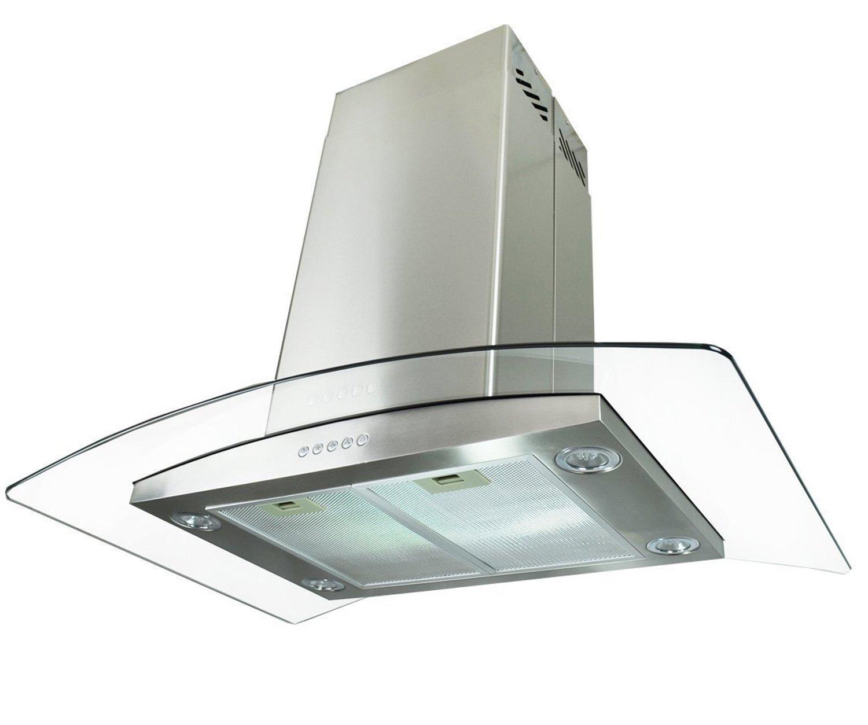 amazoncom golden vantage stainless steel 30 euro style island mount range hood gvai 30 appliances