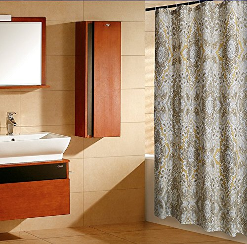Welwo Shower Curtain X Wide Extra Long Shower Curtain Set Paisley Shower Curtain 96 X 78