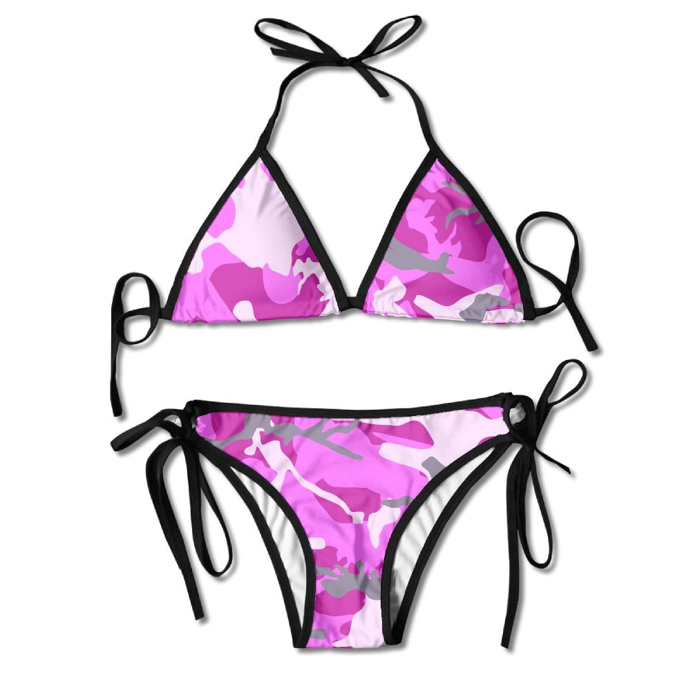 84ee04fcd3 Pink camouflage bikini womens summer swimwear triangle top bikinis swimsuit  sexy piece set clothing jpg 1000x1000