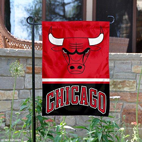 Chicago Bulls Double Sided Garden Flag