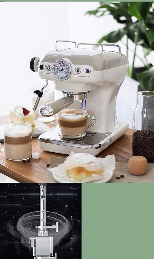 Haoshangzh55 Cafetera Italiana Pequeña Manual Semiautomática ...