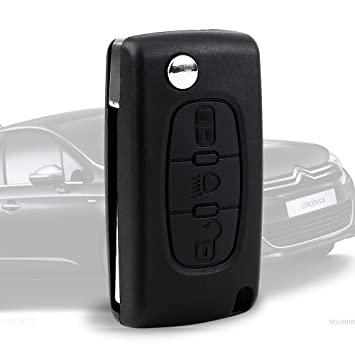 OBEST 3 Botón Carcasa del mando para Peugeot 205 106 206 306 406 107 207 307 407 308 309 Citroen C1 C2 C3 C4