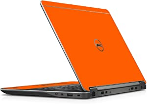 LidStyles Vinyl Protection Skin Kit Decal Sticker Compatible with Dell Latitude E7240 (Orange)