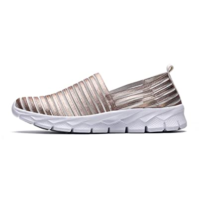 Summer Outdoor Women's Casual Breathable Soft Bottom Shoes, 2020 Slip On Running Walking Loafers Sports Sneakers Shoes: Clothing