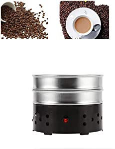 Coffee Bean Cooler Electric Roasting Cooling Machine for Home Cafe Rich Flavour Stainless Steel Radiator Heat Sink (220V, 600g/21oz)