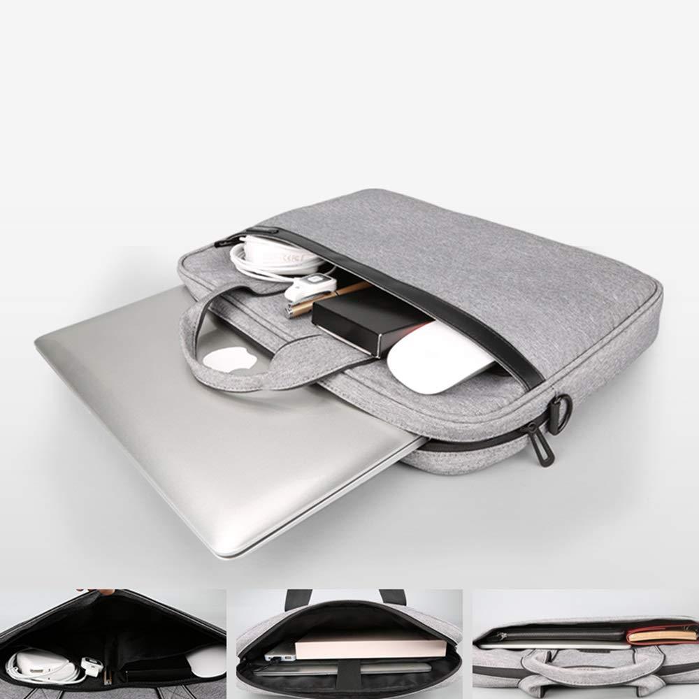 LH 14 Pulgadas 15.6 Impermeable Ordenador Portátil Bolsa Maletín Portátil Impermeable 15.6 Bolsa De Viaje De Gran Capacidad/Negocio / Escuela (Color : A, Tamaño : 15.6) 211086