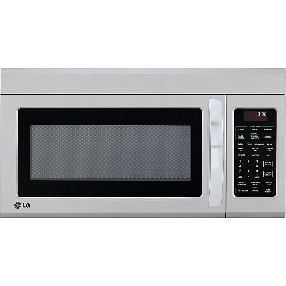 LG LMV1831ST1.8 Cu. Ft. Stainless Steel Over-the-Range Microwave