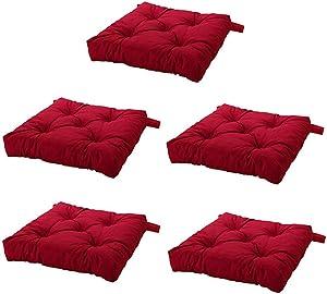 Ikea's MALINDA Chair cushion (5, Red)