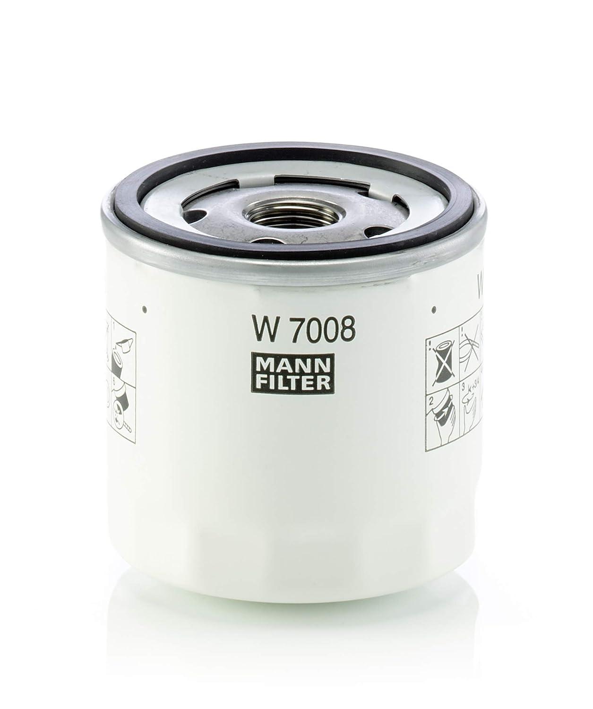 Per Automobili e Veicoli Commerciali Originale MANN-FILTER Filtro Olio W 7008