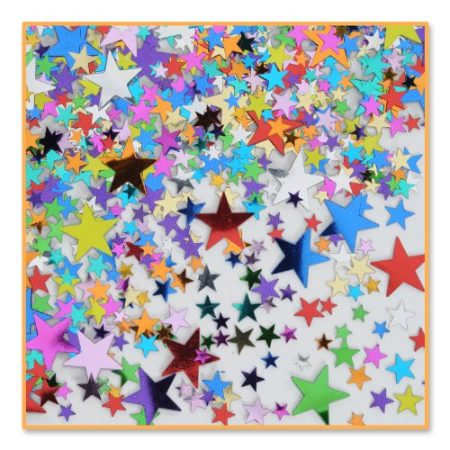 Pretty Party Stars Confetti (Pack of 96) by Beistle