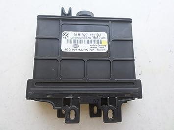 99-01 VW Beetle Golf Jetta VR6 TCU TCM 01M 927 733 DJ