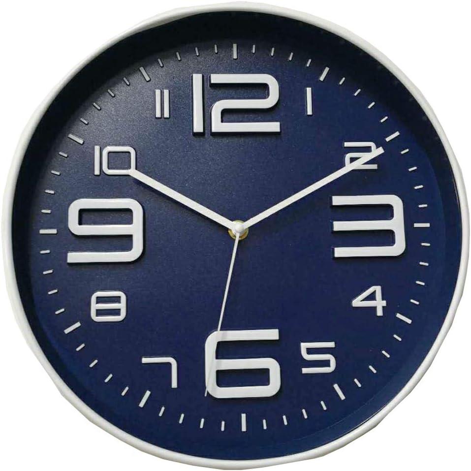ZQQBRZXFT 1401/5000 Reloj De Pared Creativo De 12 Pulgadas, Sala De Estar Silenciosa, Moderna Y Minimalista, Dormitorio De Moda, Reloj De Pared De Reloj De Cuarzo