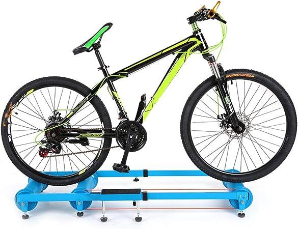 DDHJHFHF Simulación para Bicicleta Interior Entrenador Ciclismo Bicicleta de montaña estación de Entrenamiento Ciclismo Ejercicio de Rodillos Entrenador: Amazon.es: Hogar