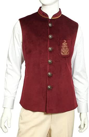 Tia Fashion Velvet Vest For Men
