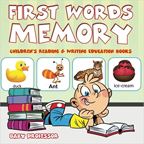 Book First Words Memory : Children's Reading & Writing Education Books