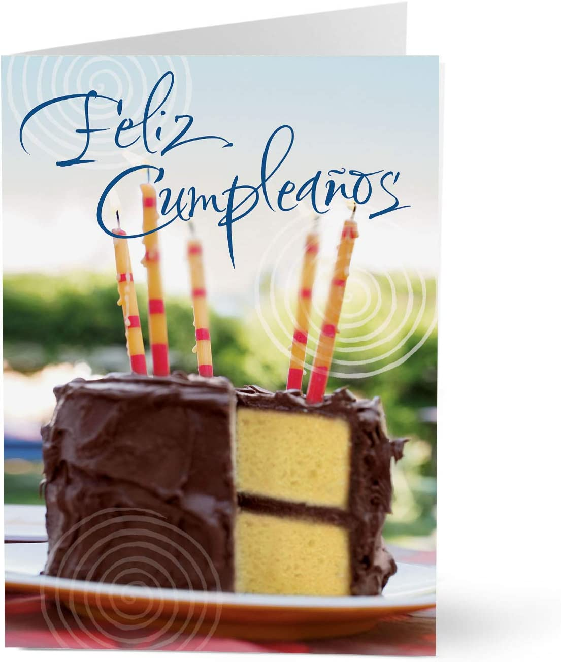 Amazon.com : Hallmark Business Spanish Birthday Card for ...