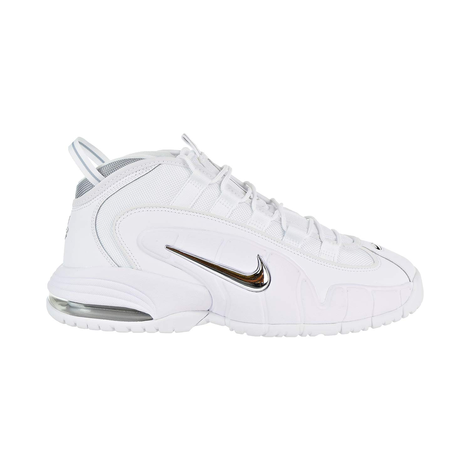 Blanc (blanc blanc Metallic argent 100) Nike Air Max Penny, Chaussures de Fitness Homme 47 EU