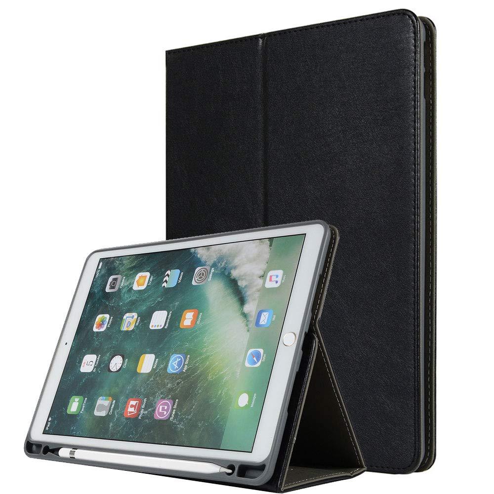 日本最級 KingTo iPad Pro 11ケース フィットカバー Pro ペンシルホルダー付き スタンドカバー 12.9 プレミアムPUレザー ブックスタイル ウルトラスリム 軽量 フィットカバー カードスロットとハンドストラップ付き iPad Pro 11インチ用 iPad Pro 12.9 2017/2015 ブラック iPad Pro 12.9 2017/2015 ブラック B07L4D4K9P, ツガワマチ:c3d2e659 --- a0267596.xsph.ru