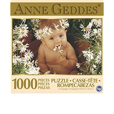 Anne Geddes 1000 Piece Puzzle - Daisies Baby: Toys & Games