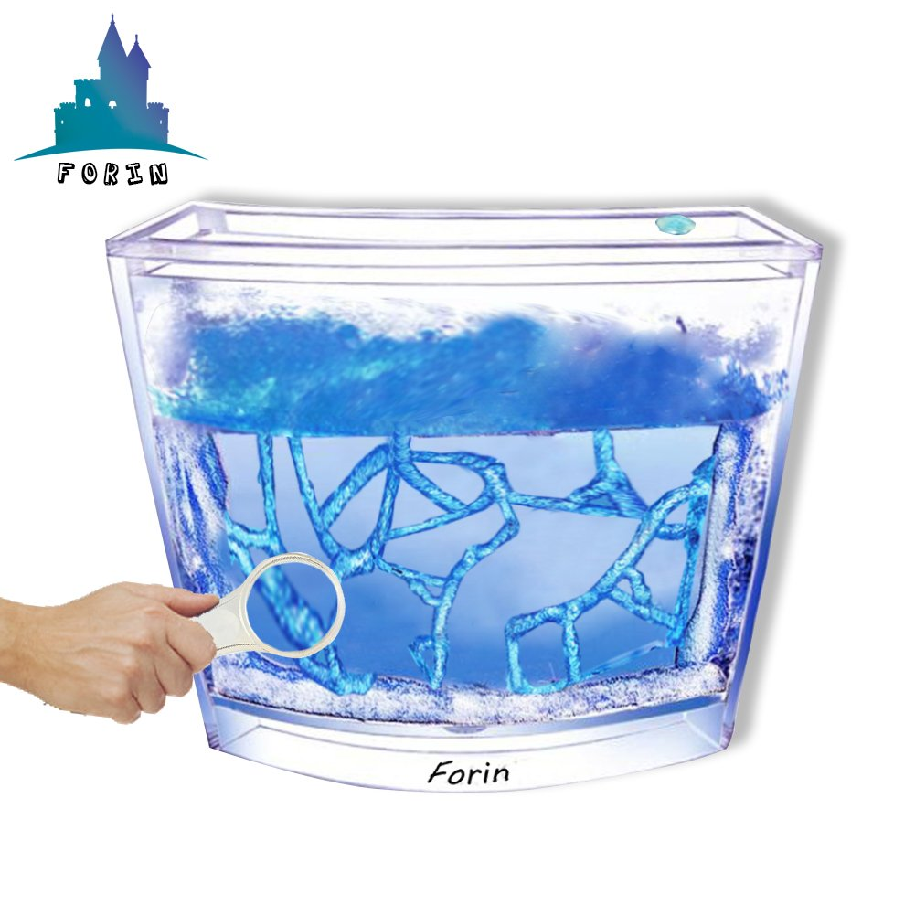 Forin Ant Nursery Castle Farm Maze with Feeding System Live Ant Viewing Habitat (Blue)