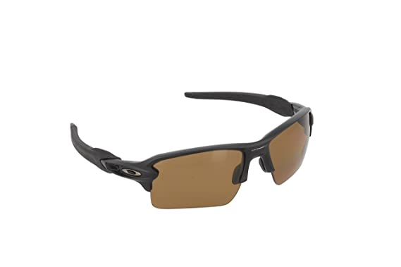 Amazon Com Oakley Mens Flak Sunglasses Matte Black Bronze Oakley