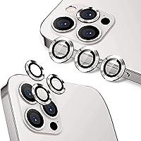 واقي عدسة كاميرا هويلونغ لهاتف ايفون 12 برو ماكس (6.7 انش)، واقي عدسة شاشة بسبائك الالومنيوم عالية الدقة من الزجاج…
