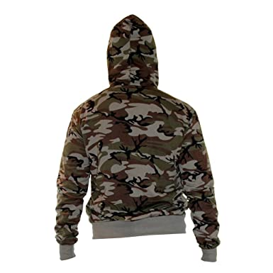 Waooh - Veste De Jogging Camouflage Lakov - MARRON, XXL  Amazon.fr ... 5dd5fa69e53