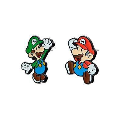 Selia Mario Luigi play Ohrring Trend Ohrstecker Origami ...